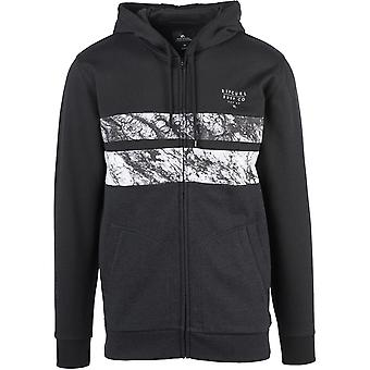 Rip Curl Blocking Surf Zipped Hoody en noir