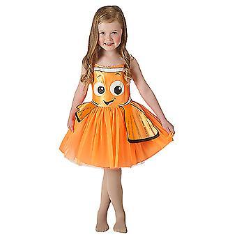 Nemo Tutu Dress Kleid Classic Kostüm für Kinder Kinderkostüm Original