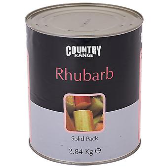 Country Range Rhubarb Tinned Solid Pack