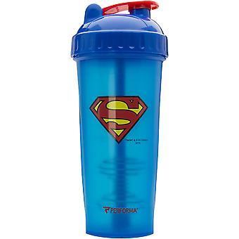 PerfectShaker Performa 28 uncji bohater Wytrząsarka kielich - Superman - doskonała siłownia butelkę!