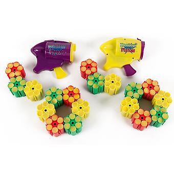 2 X Party Popper confetti ase 18 x täyttö patruuna ammukset (108) patruunat