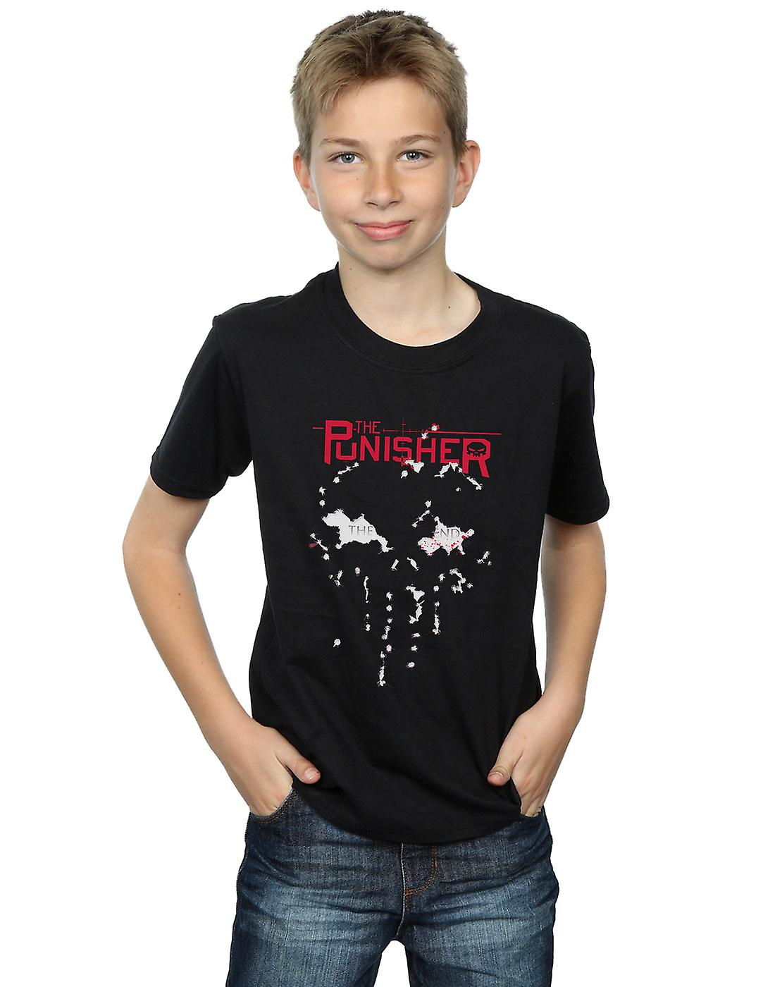 Marvel Boys The Punisher The End T-Shirt