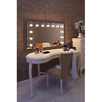 Diamond X Wallmount Hollywood Audio Mirror with Dimmable LED k91CWaud