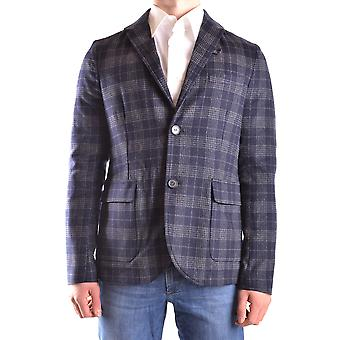 Peuterey Ezbc017059 Men's Blue Wool Blazer