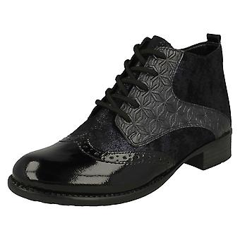Ladies Remonte Fleece Lined Ankle Boots R6446