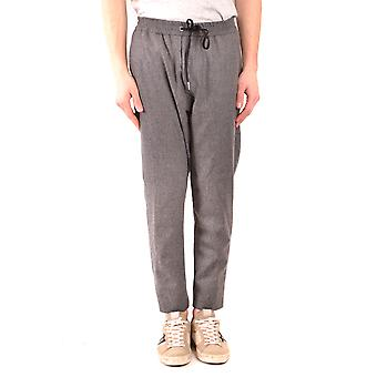 Hosio Ezbc130002 Mænd's Grey Wool Jumpsuit