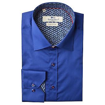 Клаудио Lugli флота Пейсли отделкой Мужская рубашка