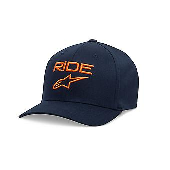 Alpinestars Mens Cap ~ Ride 2.0 navy/orange