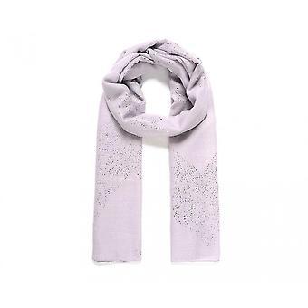 Intrige dames/dames metallic bestrooi Chevron print sjaal