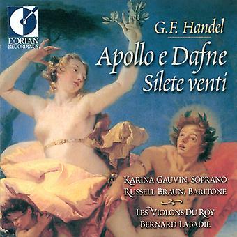 G.F. Handel - Handel: Apollo E Dafne & Silete Venti [CD] USA import