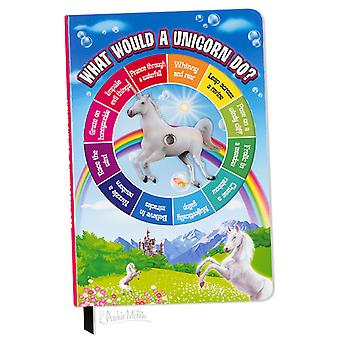Archie McPhee Unicorn Spinner Notebook