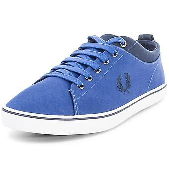 Fred Perry Men's Hallam Twill Canvas Trainers B8272-955