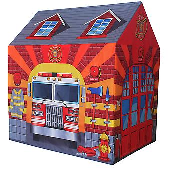Charles Bentley Fire Station/Firefighter Play Tent/Wendy House/Playhouse/Den