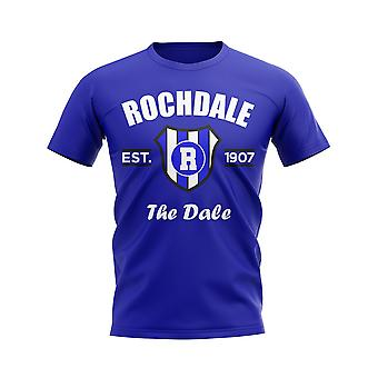 T-shirt da calcio Rochdale Established (Blu)