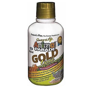 Nature's Plus Animal Parade Gold Liquid 473ml (29903)