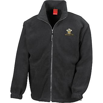 10ème Royal Hussars - Licensed British Army Embroidered Heavyweight Fleece Jacket
