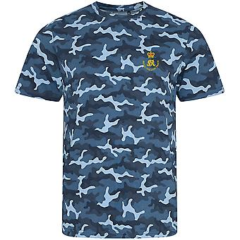 Royal Waggon Train - Licensed British Army Embroidered Camouflage Print T-Shirt