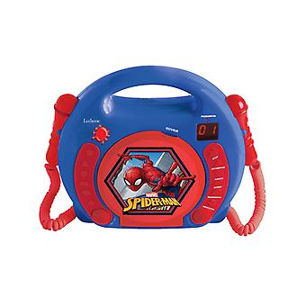 Spiderman CD Player with Microphones