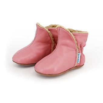 SKEANIE قبل ووكر الطفل وطفل أحذية UGG في الوردي