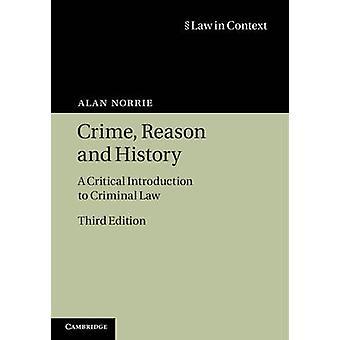 Reden van de misdaad en geschiedenis door Alan Norrie