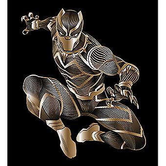 Sticker - Marvel - Black Panther - Crouch 4