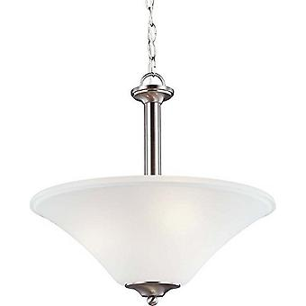 Sea Gull Lighting 69808BLE-962 Holman 3-Light Pendant Brushed Nickle