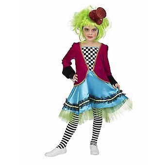 Kinderen kostuum Wicked mat Hatter vermommen gek Hatmaker meisje Fairytale kinderen kostuum carnaval