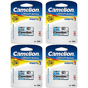 4x Battery CR2 Camelion 3V Lithium