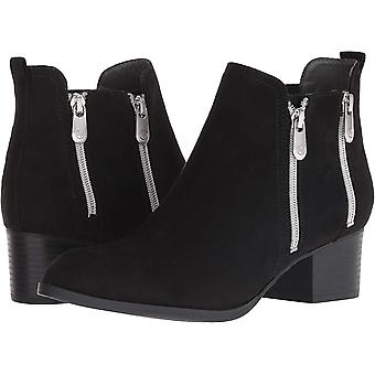 Adrienne Vittadini Womens Ravi Ankle Boots Leather Pointed Toe Ankle Fashion Boots