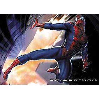 Spiderman (Flying Reprint) Reprint Poster