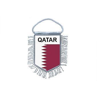 Fanion Mini Drapeau Pays Voiture Decoration Qatar Qatari