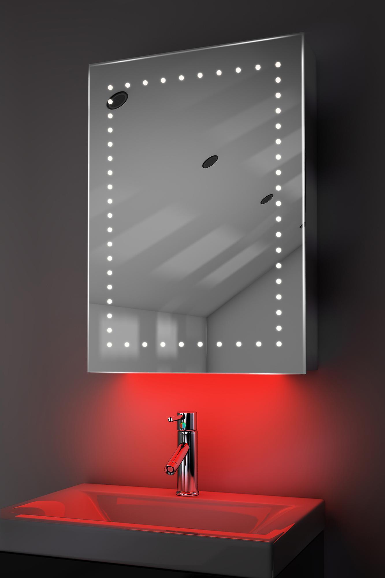 Armoire avec RGB, capteur & interne rasoir k353rgb de désembuage