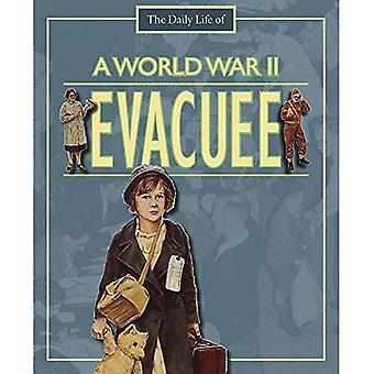 En andra världskriget evakuerad person