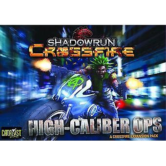 Shadowrun CrossFire misszió 1 nagy kaliberű Ops játék Expansion Pack