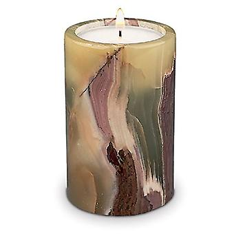 Onyx Candle Holder Round Tall