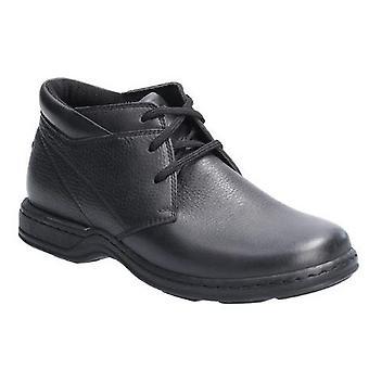 Hush щенки Реджи Менс кружева кожаная обувь