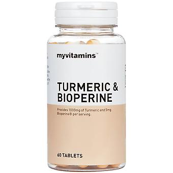 Kurkuma a bioperin (60 tablet) - Myvitamíny