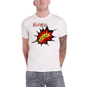 The Business T Shirt Smash The Discos Oi Band Logo new Official Mens