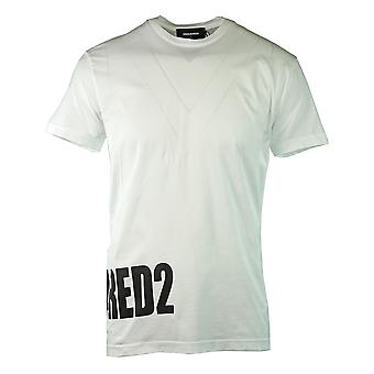Dsquared2 Stor side logo hvid T-shirt
