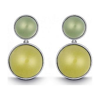 QUINN - Earrings (Pair) - Silver - Gemstone - Lemonquartz - 35058948