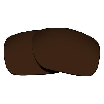 Polarized Replacement Lenses for Oakley Twoface Sunglasses Brown Anti-Scratch Anti-Glare UV400 by SeekOptics