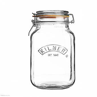 Kilner Platz Clip Top Jar