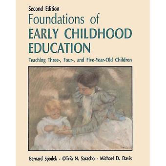 Stichtingen of Early Childhood Education onderwijs drie vier en FiveYearOld kinderen. door Spodek & Bernard