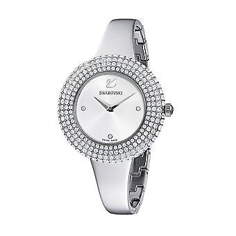 Watch Swarovski 5483853 - Crystal Rose Bracelet Jonc Steel Silver Lunette Sertie In Micro-Pav Women