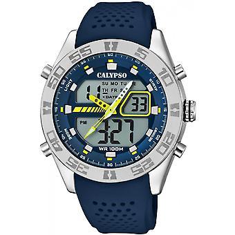 Reloj Calypso K5774-3 - de relojes reloj silicona Blue Man