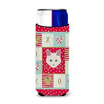 Aphrodite Giant Cat Michelob Ultra Hugger for slim cans