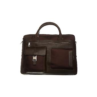 Maroon Piquadro men's case