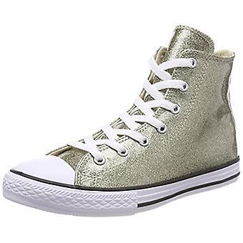 Dzieci Converse Boys All Star Hi Dzieci Trenerzy Fabric Hight Top Lace Up Moda ...