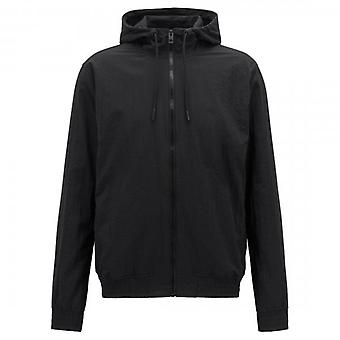 Boss Orange Boss Zinc Hoody Lightweight Jacket Black 001 50402792