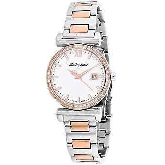 Mathey Tissot Women's White Dial Watch - D410BQI